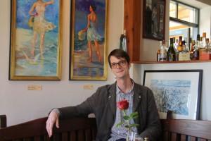 Kunst im Likedeeler: Felix Karweick stellt aus...