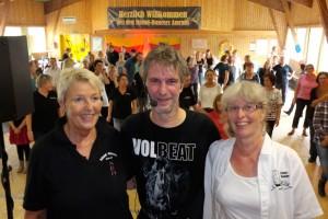 v.l.n.r.Waltraud Lüben, Dirk Leibing, Petra Gerrets