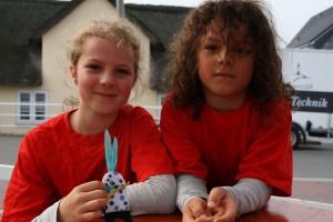 Wünschen sich einen Muschelkönig mit Königin:  Erik und Annika aus Aschaffenburg