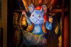 """In der """"Blauen Maus""""..."""