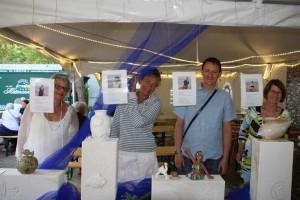 Die vier Keramikkünstler der Insel