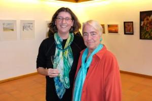 Andrea Hölscher und Sigrid Streicher