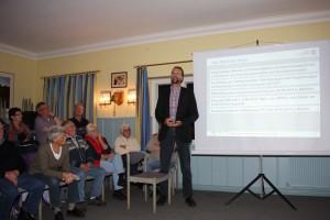 Dr. Johannes Oelerich stellt die Fakten vor