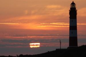 Wenn auf Amrum die Sonne früher unter geht, fangen die Volkshochschulkurse an...