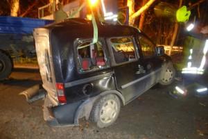 Das unfallverursachende Fahrzeug