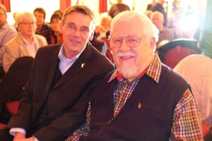 Veranstaltungsleiter Michael Hoff und Bill Ramsey