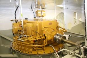 Getriebe für Voith-Schneider Antrieb auf der Uthlande