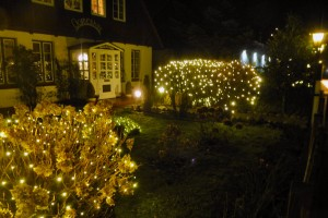 Nettes Beispiel für einen Lichterbeitrag in Norddorf