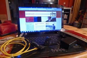 Post von der Lünecom - fertig konfigurierter Router