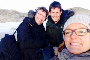 Schöne Insel – alle glücklich: Christoph Godler, Heiko Käberich, Simone Grabs (von links)