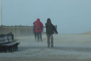Angst vor Flugsand durfte man am Strandübergang Norddorf nicht haben...