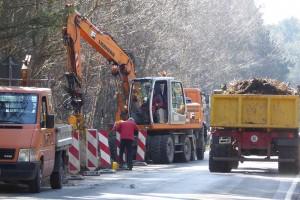 Der Anschluss zur Lunstruat muss noch fertig gestellt werden.