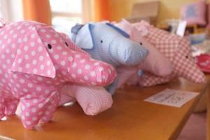 Auch Schweine waren da...