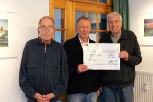 v.l.: Klaus Hahnke, Holger Peters, Gert Grevenitz