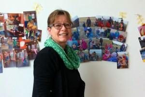Susanne Jensen informierte über die Arbeit im Kindergarten...