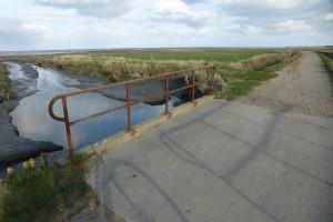 Die betroffene Brücke
