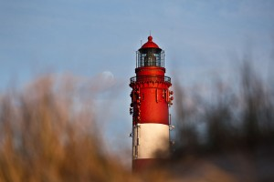 Der Amrumer Leuchtturm geht bald als Miniatur auf Reisen...
