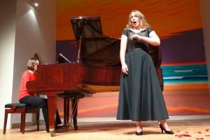 Pianistin Hanne Franzen und Sopransängerin Miriam Möckl