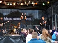 Brachten tolle Stimmung: Johnny Hamburg und Band