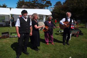 Seltene Freude: Querbeet trat beim Mühlenfest auf...