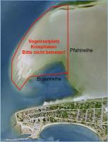 Karte mit Absperrungen