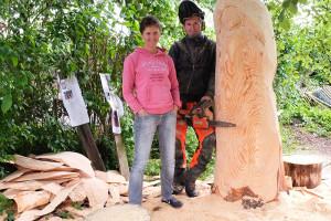 Tanja Wegner-Weiseth und Florian Lindner