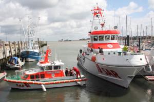 Kleine Hafenrundfahrt für Neuförderer...