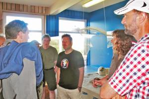 Naturschutzdiskussion im Naturzentrum Amrum