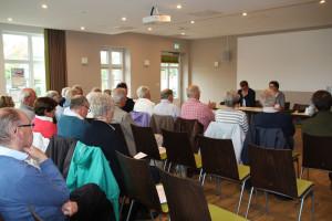 Trafen sich im Seeheim in Norddorf: die Förderverein-Mitglieder