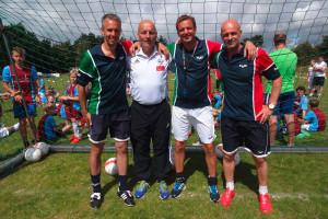 Das Trainerteam: Thorsten Judt, Thomas Seeliger, Karl Müller und Bernd Bressem
