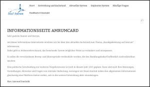 Info-Seite der AmrumTouristik
