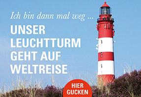 Leuchtturm auf Reisen