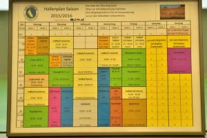 Der neue Hallenplan