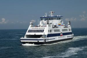 """...modifizierter Nachbau der 2011 von der Neptun Werft abgelieferten M/S """"Schleswig-Holstein"""""""