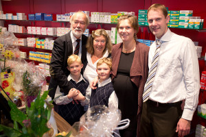 Familie Kruggel freut sich über die Neueröffnung