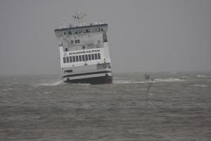 Schleswig-Holstein läuft den Wittdüner Hafen an