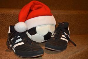 Der Ball ist rund... auch zu Weihnachten