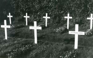 Der Heimatlosenfriedhof Westerland - hier liegt der Amrumer Peter John begraben