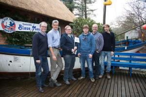 Vorstand ASRV vl.n.r: Christian Klüßendorf, Ulf Jürgensen, Jan Schmuck, Dominic Kühfuß, Dirk Dümmel und Nils Randow