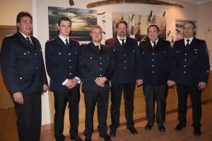 Andreas Knauer, Cornelius Hinrichs, Timo Meinerts, Ole Andresen, Lars Kappelhoff und Dirk Hinrichs