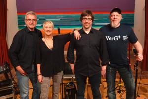 Die aktuelle Godewind Besetzung - Shanger Ohl, Anja Bublitz, Heiko Reese und Sven Zimmermann