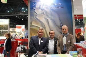 Olaf Raffel, Büsum – Frank Timpe, Amrum – Moritz Luft, Sylt vertraten die Schleswig-Holsteinische Nordseeküste in Wien