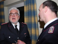 Bernd Rohlmann für 30 Jahre Feuerwehrzugehörigkeit