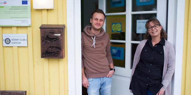 Zwei neue Gesichter im Jugendzentrum, Willkommen Susanne und Daniel…