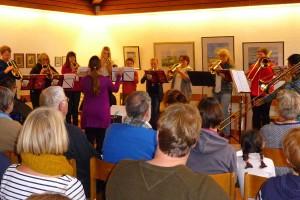 Musik! Das 62. Stiftungsfest von Flötenkreis und Posaunenchor