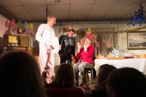 Gastauftritt Jan Ruth im Hasenkostüm