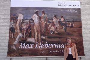 Ein Hingucker des neuen Ausstellungsjahres: Max Liebermann und Zeitgenossen mit MKDW-Direktorin Ulrike Wolff-Thomsen