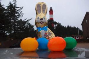 Die Ostereiersuche am Leuchtturm musste leider ausfallen...