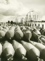 Der Tonnenhafen in den 1960er Jahren