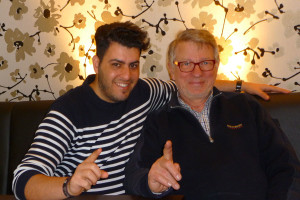 Haben sich verstanden: Ralf-Sigmar Simon und Adrian Cem